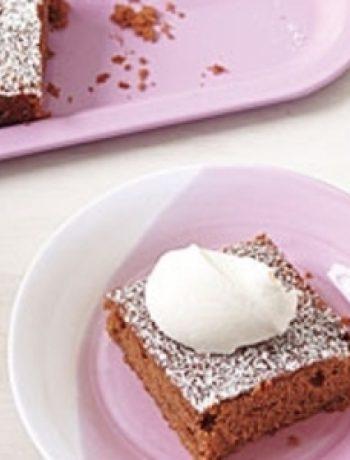 Chocolate-Zucchini Snack Cake recipes