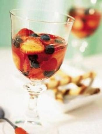 Berry-Muscat Wine Goblets