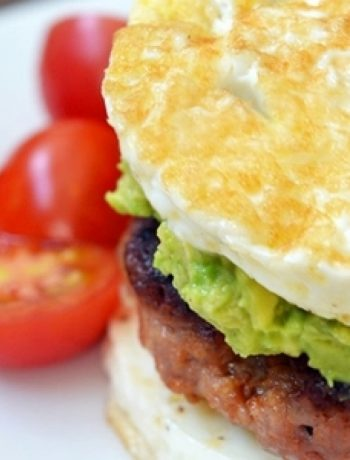"Paleo Sausage Egg ""McMuffin"" recipes"