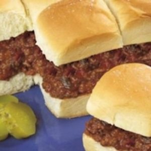 Sloppy Joe Slider Pull Aparts recipes