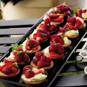 Summer Berry Fizz Tartlets