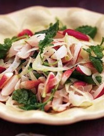 Lemony Radish & Fennel Salad