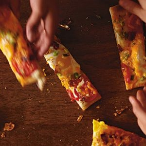 Cheesy Morning Pizza recipes