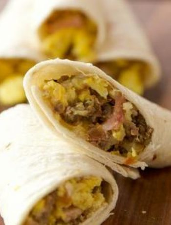 Awesome Breakfast Burritos