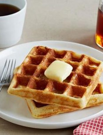 Crisp and Airy Gluten-Free Waffles