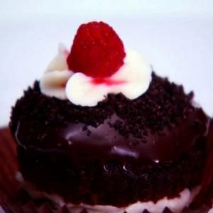 Vegan, Soy-Free, Nut-Free Fudge, Mint and Raspberry Cupcakes