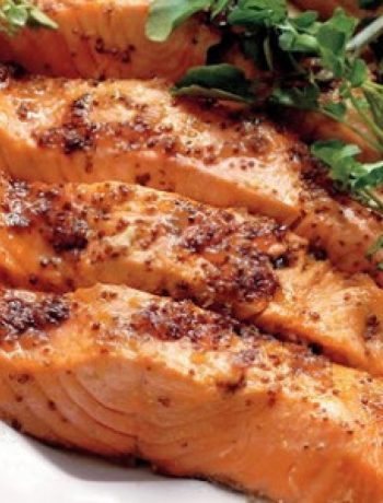 Salmon with Brown Sugar and Mustard Glaze recipes