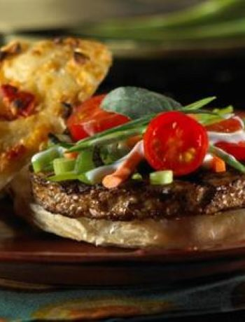 Spicy Thai Vegan Burger