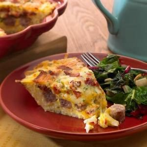 Morning Delight Quiche
