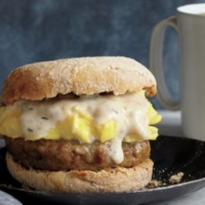 Sausage, Gravy, and Egg Breakfast Sandwiches recipes