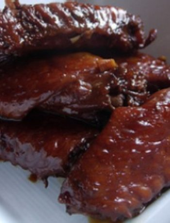 Red-Cooked Chicken Wings recipes