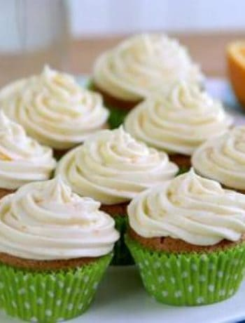 Gluten-Free Orange Creamsicle Cupcakes