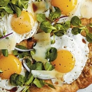 Sunny-Side-Up Pizza recipes