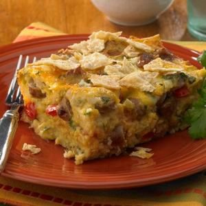 Mexican Tortilla Breakfast Sausage