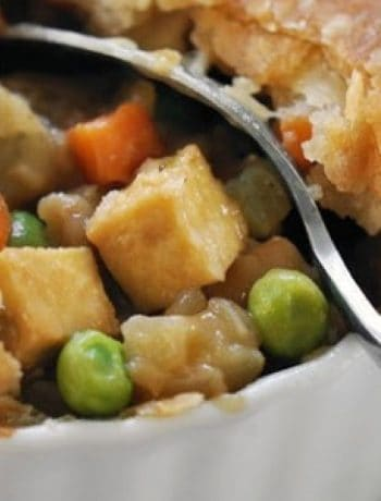 Vegan Tofu and Vegetable Pot Pie recipes