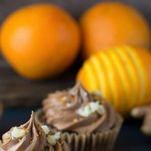 Vegan Chocolate Cupcakes with Ginger & Orange recipes