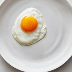 Pristine Sunny-Side Up Eggs