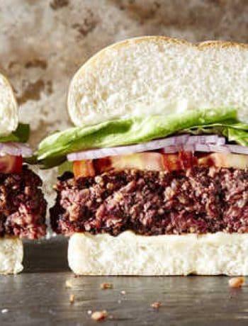 "The Best ""Beefy"" Vegan Burgers"