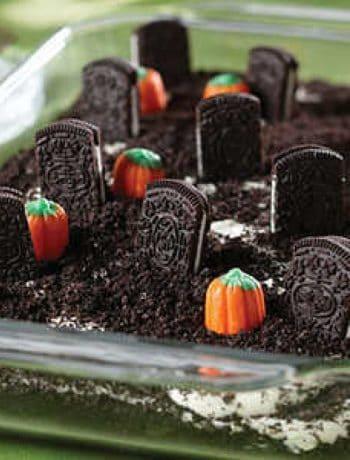Cemetery Cookie Dessert