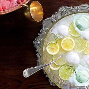 Lemon-Lime-Rosemary Punch