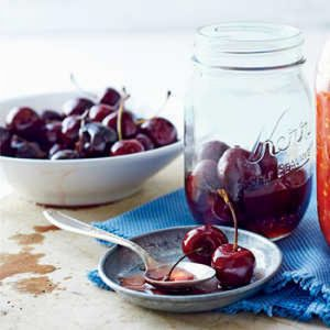 Bourbon-Soaked Cherries