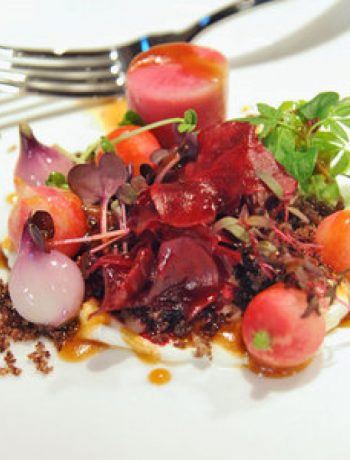 Pickled Beets and Breakfast Radish Salad