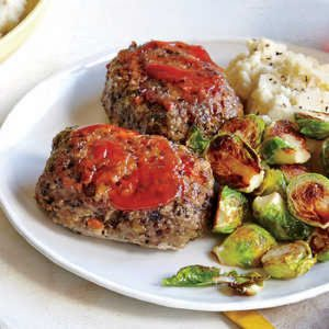 Whole-Grain Mini Meat Loaves