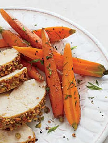 Citrus-Herb Roasted Baby Carrots