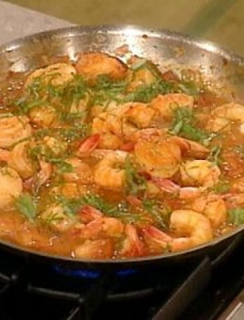 Venetian Shrimp and Scallops