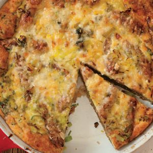 Potato, Sausage, and Spinach Breakfast Casserole recipes