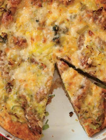 Potato, Sausage, and Spinach Breakfast Casserole recipes