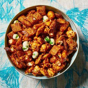 Togarashi-Spiced Snack Mix
