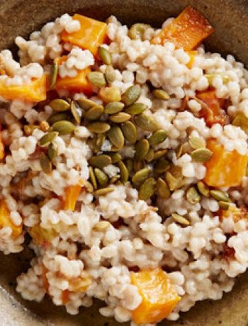 Morning Barley with Squash, Date, and Lemon Compote recipes