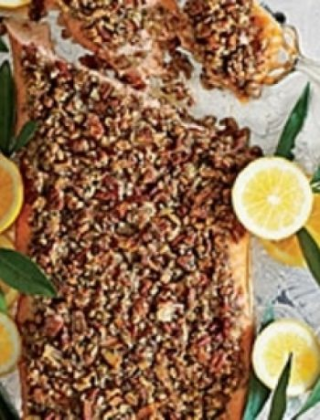 Pecan-and-Dill-Crusted Salmon recipes
