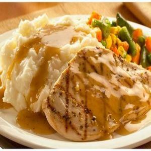 Grilled Pesto Chicken Dinner