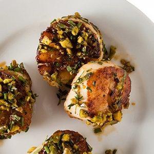 Pistachio-Crusted Scallops recipes