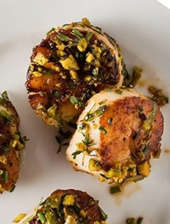 Pistachio-Crusted Scallops recipes